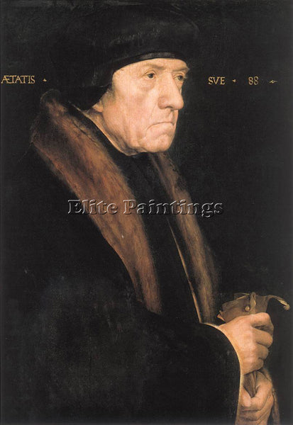 HANS HOLBEIN THE YOUNGER PORTRAIT OF JOHN CHAMBERS ARTIST PAINTING REPRODUCTION