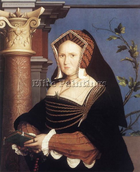 HANS HOLBEIN THE YOUNGER PORTRAIT OF LADY MARY GUILDFORD2 ARTIST PAINTING CANVAS