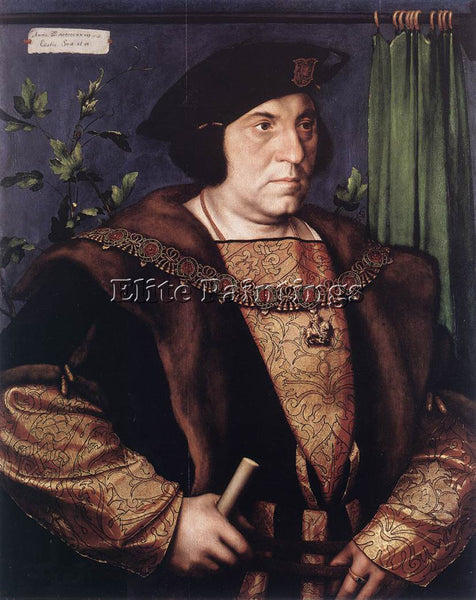 HANS HOLBEIN THE YOUNGER PORTRAIT OF SIR HENRY GUILDFORD ARTIST PAINTING CANVAS