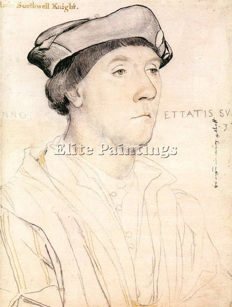 HANS HOLBEIN THE YOUNGER PORTRAIT OF SIR RICHARD SOUTHWELL ARTIST PAINTING REPRO