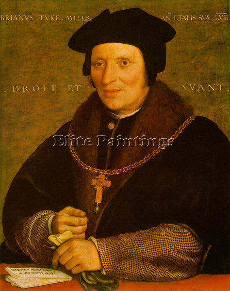 HANS HOLBEIN THE YOUNGER SIR BRIAN TUKE ARTIST PAINTING REPRODUCTION HANDMADE