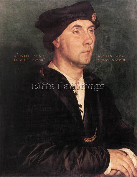 HANS HOLBEIN THE YOUNGER SIR RICHARD SOUTHWELL ARTIST PAINTING REPRODUCTION OIL