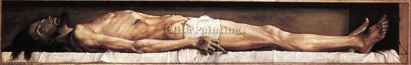 HANS HOLBEIN THE YOUNGER THE BODY OF THE DEAD CHRIST IN THE TOMB ARTIST PAINTING