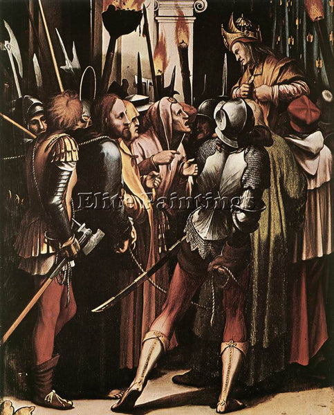 HANS HOLBEIN THE YOUNGER THE PASSION DETAIL 5 ARTIST PAINTING REPRODUCTION OIL