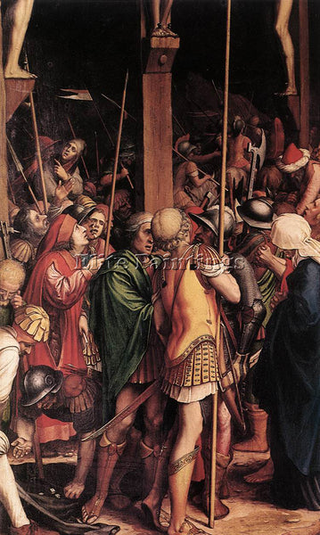 HANS HOLBEIN THE YOUNGER THE PASSION DETAIL 7 ARTIST PAINTING REPRODUCTION OIL