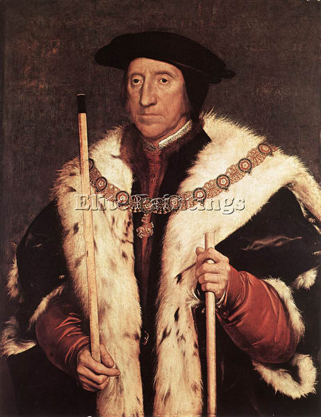 HANS HOLBEIN THE YOUNGER THOMAS HOWARD PRINCE OF NORFOLK ARTIST PAINTING CANVAS