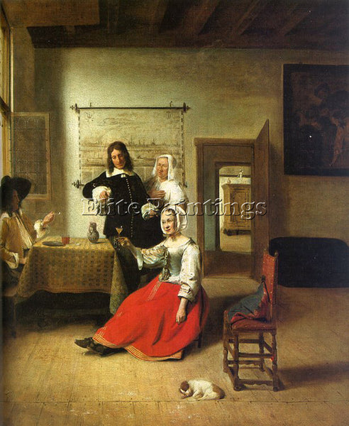 DUTCH HOOCH PIETER DE DUTCH APPROX 1629 1684 HOOCH2 ARTIST PAINTING REPRODUCTION