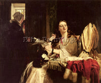 BRITISH HORSLEY JOHN CALLCOTT ST VALENTINES DAY ARTIST PAINTING REPRODUCTION OIL