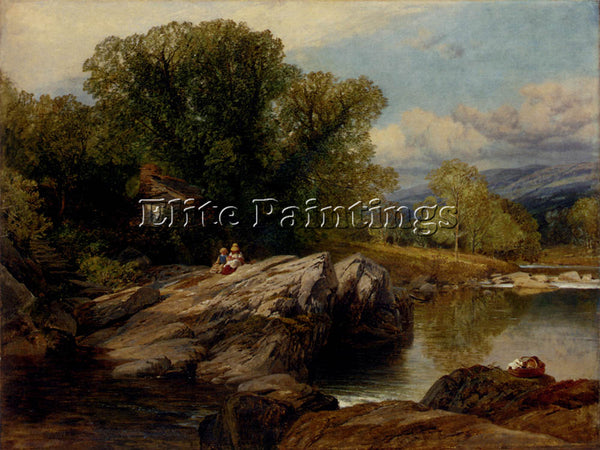 FREDERICK WILLIAM HULME BETTWS Y COED ARTIST PAINTING REPRODUCTION HANDMADE OIL