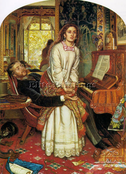 WILLIAM HOLMAN HUNT HUNT4 ARTIST PAINTING REPRODUCTION HANDMADE OIL CANVAS REPRO