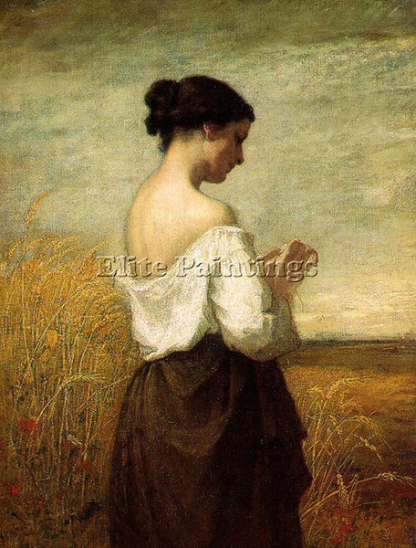 WILLIAM MORRIS HUNT PEASANT GIRL ARTIST PAINTING REPRODUCTION HANDMADE OIL REPRO