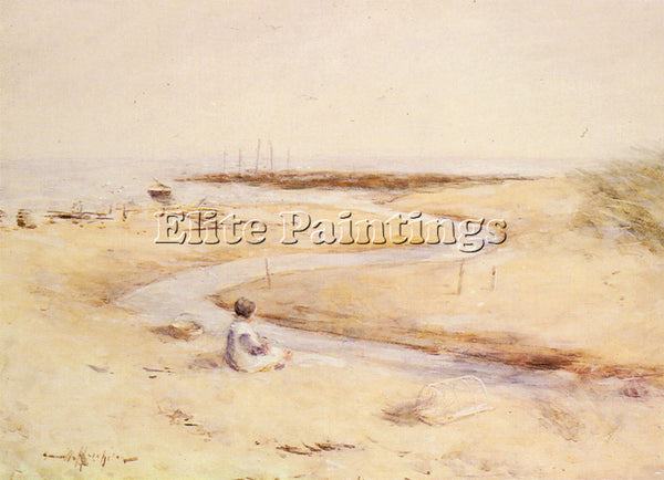 ROBERT GEMMELL HUTCHISON CARNOUSTIE BAY ARTIST PAINTING REPRODUCTION HANDMADE