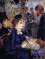 RENOIR IN THE CAFE ARTIST PAINTING REPRODUCTION HANDMADE CANVAS REPRO WALL DECO