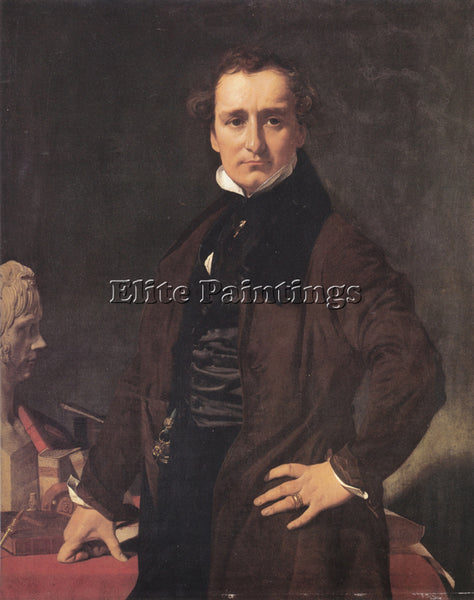 JEAN AUGUSTE DOMINIQUE INGRES LORENZO BARTOLINI ARTIST PAINTING REPRODUCTION OIL