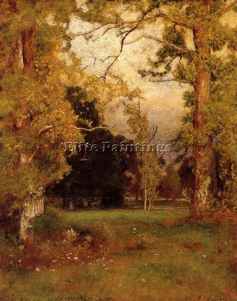 GEORGE INNESS LATE AFTERNOON ARTIST PAINTING REPRODUCTION HANDMADE CANVAS REPRO