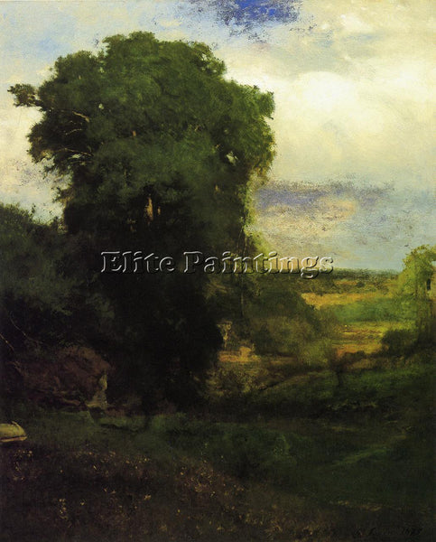 GEORGE INNESS MIDSUMMER ARTIST PAINTING REPRODUCTION HANDMADE CANVAS REPRO WALL