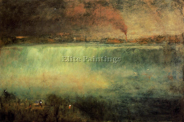 GEORGE INNESS NIAGARA ARTIST PAINTING REPRODUCTION HANDMADE OIL CANVAS REPRO ART
