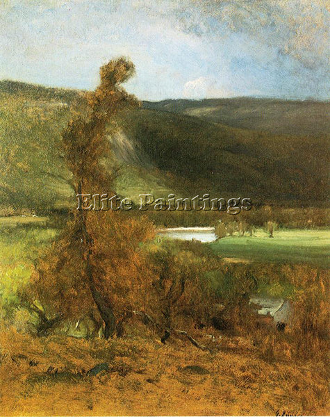 GEORGE INNESS NORTH CONWAY WHITE HORSE LEDGE ARTIST PAINTING HANDMADE OIL CANVAS