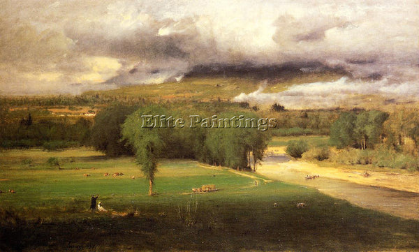 GEORGE INNESS SACCO FORD CONWAY MEADOWS ARTIST PAINTING REPRODUCTION HANDMADE