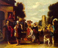 DUTCH JACOBSZ LAMBERT DUTCH 1598 1636 ARTIST PAINTING REPRODUCTION HANDMADE OIL