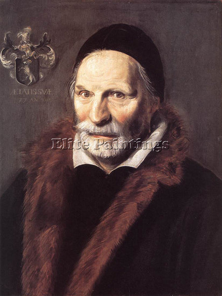 FRANS HALS JACOBUS ZAFFIUS ARTIST PAINTING REPRODUCTION HANDMADE OIL CANVAS DECO