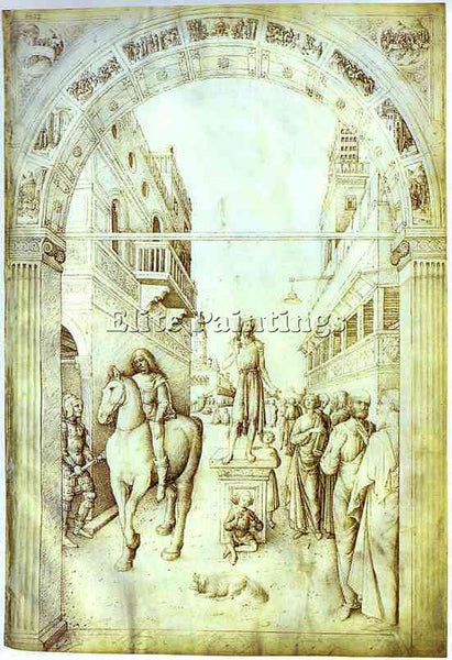 JACOPO BELLINI BELLI201 ARTIST PAINTING REPRODUCTION HANDMADE CANVAS REPRO WALL