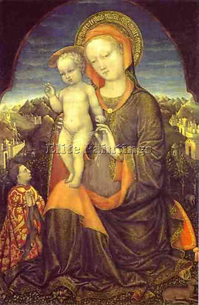 JACOPO BELLINI BELLI202 ARTIST PAINTING REPRODUCTION HANDMADE CANVAS REPRO WALL