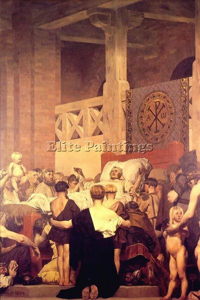 JEAN-PAUL LAURENS LAU1 ARTIST PAINTING REPRODUCTION HANDMADE CANVAS REPRO WALL