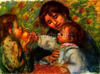 RENOIR JEAN RENOIR AND GABRIELLE ARTIST PAINTING REPRODUCTION HANDMADE OIL REPRO