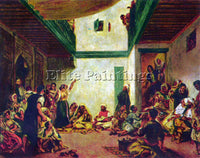 RENOIR JEWISH WEDDING AFTER DELACROIX  ARTIST PAINTING REPRODUCTION HANDMADE OIL