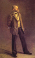 THOMAS EAKINS JOHN MCLURE HAMILTON ARTIST PAINTING REPRODUCTION HANDMADE OIL ART