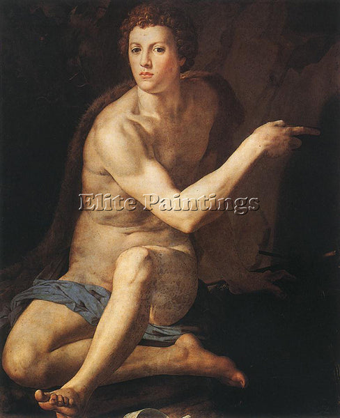 AGNOLO BRONZINO JOHN THE BAPTIST ARTIST PAINTING REPRODUCTION HANDMADE OIL REPRO