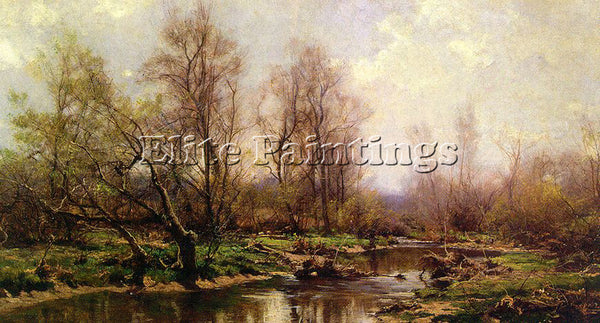 AMERICAN JONES HUGH BOLTON AMERICAN 1848 1927 2 ARTIST PAINTING REPRODUCTION OIL