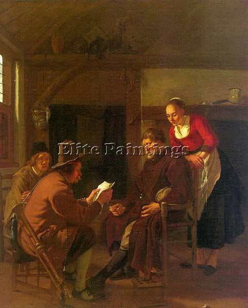DUTCH JONGH LUDOLF DE DUTCH 1616 1679 ARTIST PAINTING REPRODUCTION HANDMADE OIL