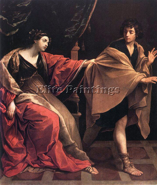 GUIDO RENI JOSEPH AND POTIPHARS WIFE 1 ARTIST PAINTING REPRODUCTION HANDMADE OIL