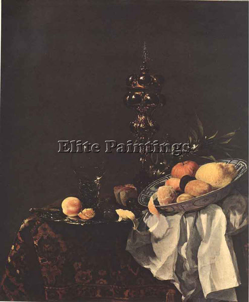 WILLEM KALF STILL LIFE 1650 ARTIST PAINTING REPRODUCTION HANDMADE OIL CANVAS ART