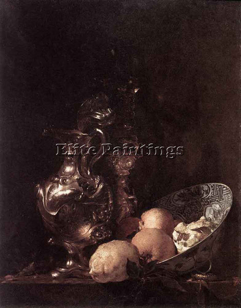 WILLEM KALF STILL LIFE ARTIST PAINTING REPRODUCTION HANDMADE CANVAS REPRO WALL