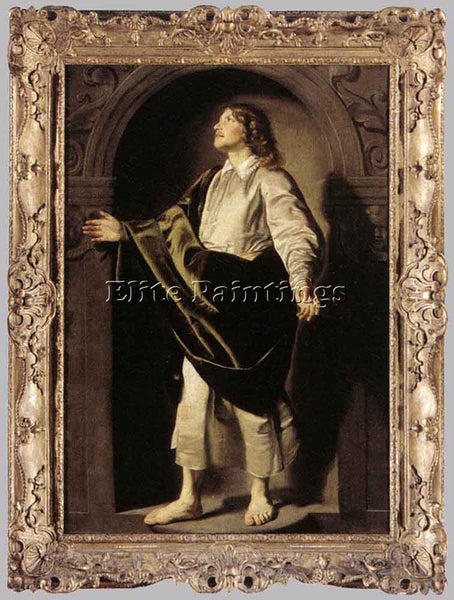 THOMAS DE KEYSER APOSTLE ST JOHN ARTIST PAINTING REPRODUCTION HANDMADE OIL REPRO