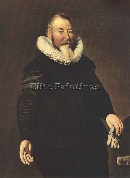 THOMAS DE KEYSER PORTRAIT OF A MAN ARTIST PAINTING REPRODUCTION HANDMADE OIL ART