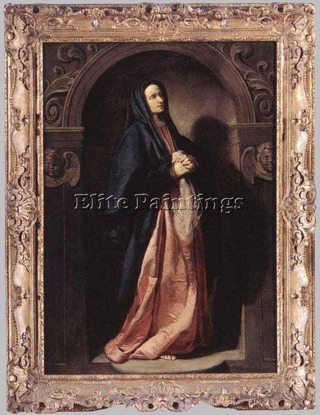 THOMAS DE KEYSER VIRGIN MARY ARTIST PAINTING REPRODUCTION HANDMADE CANVAS REPRO