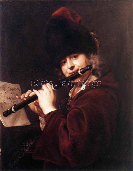 JAN KUPECKY PORTRAIT OF THE COURT MUSICIAN JOSEF LEMBERGER ARTIST PAINTING REPRO