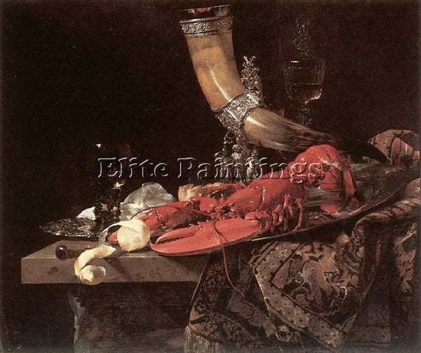 WILLEM KALF 53LOBHORN ARTIST PAINTING REPRODUCTION HANDMADE OIL CANVAS REPRO ART