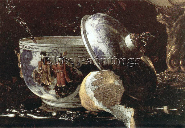WILLEM KALF 62NAUTIDET ARTIST PAINTING REPRODUCTION HANDMADE CANVAS REPRO WALL