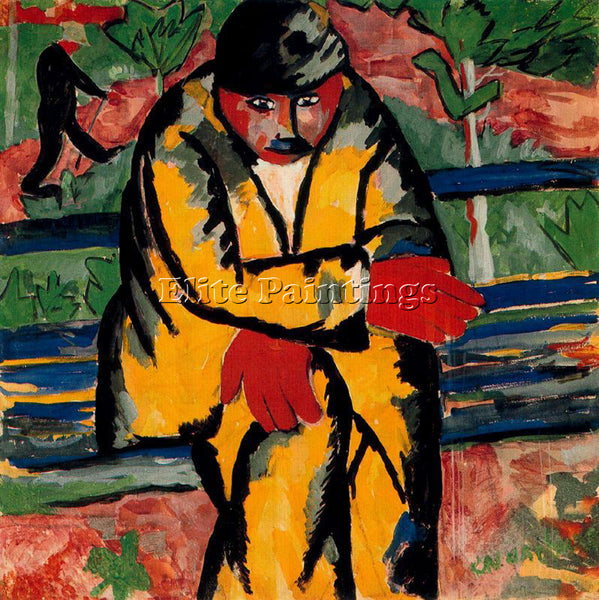 KAZIMIR MALEVICH MALE143 ARTIST PAINTING REPRODUCTION HANDMADE CANVAS REPRO WALL