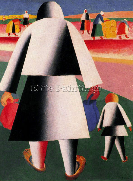 KAZIMIR MALEVICH MALE157 ARTIST PAINTING REPRODUCTION HANDMADE CANVAS REPRO WALL