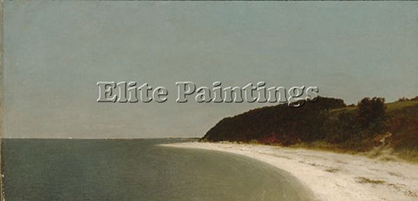 JOHN FREDERICK KENSETT EATONS NECK LONG ISLAND ARTIST PAINTING REPRODUCTION OIL
