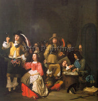 DUTCH KICK SIMON DUTCH 1603 1652 ARTIST PAINTING REPRODUCTION HANDMADE OIL REPRO