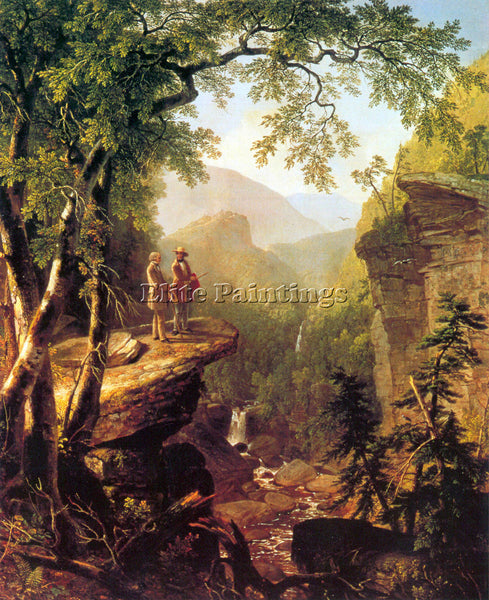 HUDSON RIVER KINDRED SPIRITS BY ASHER BROWN DURAND ARTIST PAINTING REPRODUCTION