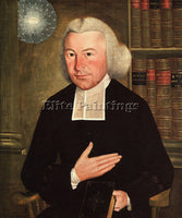 AMERICAN KING SAMUEL AMERICAN APPROX 1748 1819 ARTIST PAINTING REPRODUCTION OIL