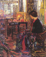 AMERICAN KLEITSCH JOSEPH A AMERICAN 1885 1931 ARTIST PAINTING REPRODUCTION OIL